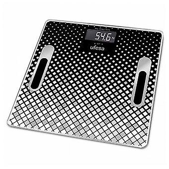 Escalas digitales de baño UFESA BE1855 Negro (30 X 30 cm)