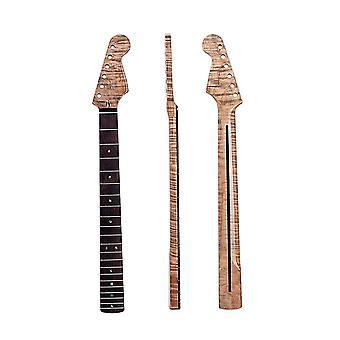 Guitar Neck 21 Fret Rosewood Fingerboard with Back Centerline