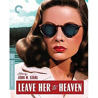 Leave Her To Heaven [Blu-ray] USA import