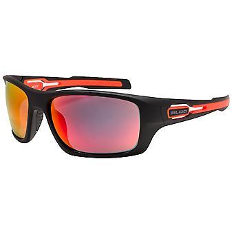 الكتلة فينيكس النظارات الشمسية - ماتي الأسود / الأحمر ريفو