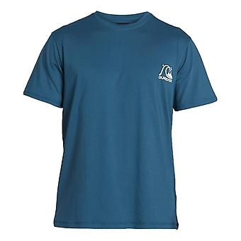 Quiksilver Heritage T-Shirt - Majolica Blue Heather