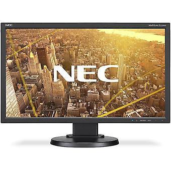 "NEC 23"" MultiSync LCD Monitor E233WMi IPS FHD HA MM VGA DVI DP BK 60004376"