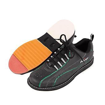 Zapatos de bolos para hombre con suela antideslizante, zapatos deportivos profesionales