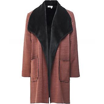 Thanny Reversible Faux Sheepskin Coat
