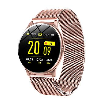Lige 2020 Fashion Sports Smartwatch Fitness Sport Activity Tracker Smartphone Watch iOS Android - Rose Gold