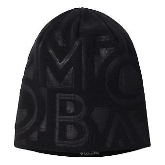 Columbia Sportswear City Trek Debossed Beanie - Black Typo Print