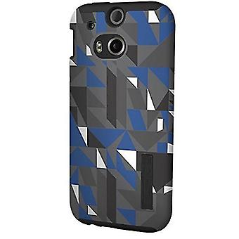 Incipio DualPro Case for HTC One M8 (Geometric Black)