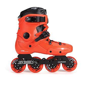التزلج على الجليد شارع الحرة نمط الأسطوانة أحذية التعرج