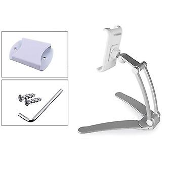 Tablet Stand Wall, Desk, Mount Fit For 5-10.5 Inch Width Tablet  Metal Bracket
