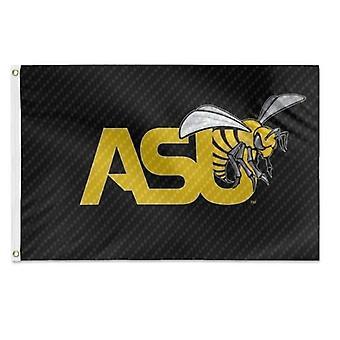 Asu Hornet Carbon Fiber Pattern Flag 3x5 Feet
