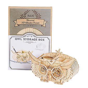 Owl model manual DIY assembly