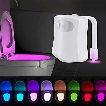Smart  Motion Sensor  8colors Waterproof Backlight For Toilet Bowl Luminaria