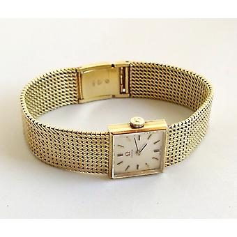 Gold Omega watch