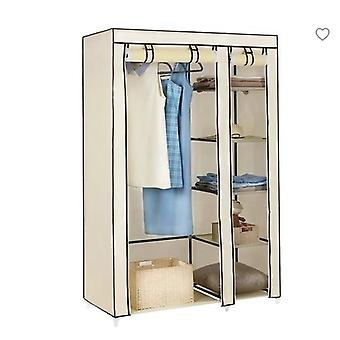 Armario de tela no tejido, gabinete de almacenamiento de ropa plegable de dormitorio