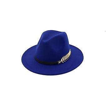 Isot brim hatut ja vintage kirkko hatut lady flat brim fedoras, naisten huopa hattu