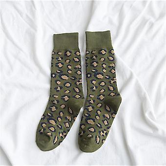 Pack broderet udtryk Happy Fashion Ankel Bomuld Sommer Candy Sock