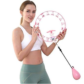 Smart Countable Hula Hoop, Fixed Waist Will Not Fall, Removable Hula Hoop, Fitness And Thin Abdomen