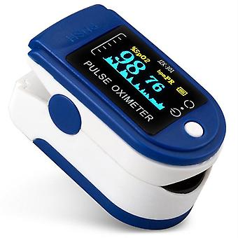 Portable Professional Finger Oximeter, Digital Pulse, Oled Blood Oxygen Heart