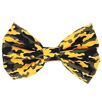 Dog Bowtie | Mustard Ultimate Camo