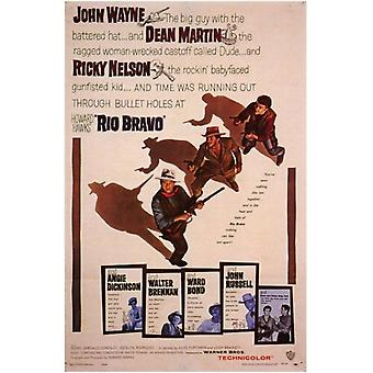 Rio Bravo Movie Poster (11 x 17)