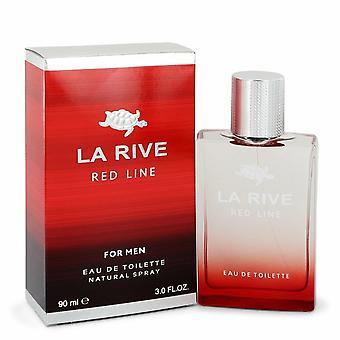 La Rive Red Line by La Rive Eau De Toilette Spray 3 oz / 90 ml (Men)