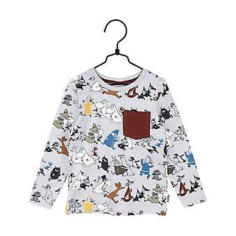 Mumin Loppet-tröja grå/burg