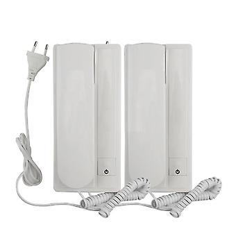 Toveis samtale telefon kablet ikke visuell Intercom dørklokke