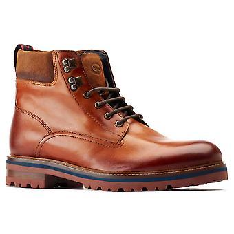 Base london men's maidon work boot brown 31257