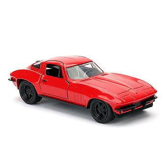 F&F 8 '66 Chevy Corvette 1:32 Scale Hollywood Ride