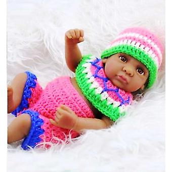 Sweater Set In Multicolor For 11 Inch Newborn Baby Boy Dolls