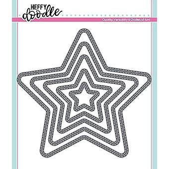 Heffy Doodle Stitched Stars meurt