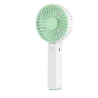 Usb handheld folding rechargeable mini fan