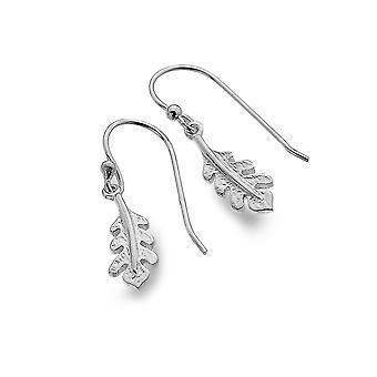 Sterling Silver Earrings - Origins Oak Leaf