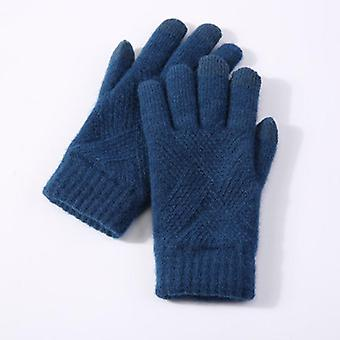 Warm Knitted Full Finger Gloves