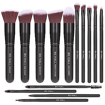 BS08 - BS-MALL 14 st. exklusiva Make-up / sminkborstar av Bästa Kvalité