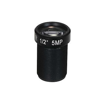 HD 5.0 Megapikselin toimintakameran linssi 25mm IR-objektiivi M12 Asenna CCTV MTV-levyn linssi