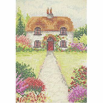 Anchor Cross Stitch Kit: Förrätt: Cottage Garden