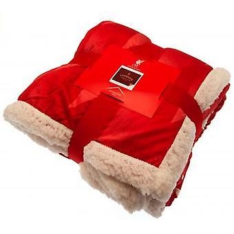 Liverpool Sherpa Fleece Blanket