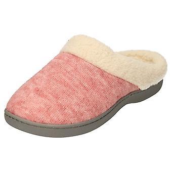 JWF Slippers Mules Memory Foam Clogs Pink