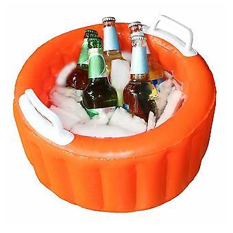 Outdoor aufblasbare Bier Eiskübel Kühler Sommer schwimmende Pool Party Schwimmen
