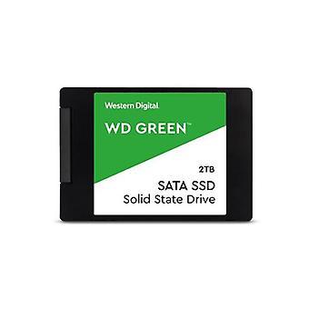 Western Digital Wd Green 2Tb Ssd 80Tbw 3D Nand 7Mm