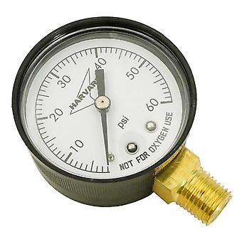 "American Granby IPPG602-4L 2"" Dial 0-60# Plastic Case Lower Pressure Guage"