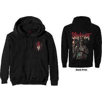 Slipknot - Burn Me Away Men's X-Large Pullover Hoodie - Noir