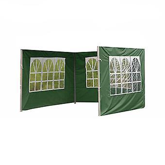 Canopy Tent Sidewall för lusthus tält, vattentät, regntät, vindruta 1 Pack Sidovägg Endast