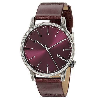 KOMONO Winston regal purple - reloj unisex
