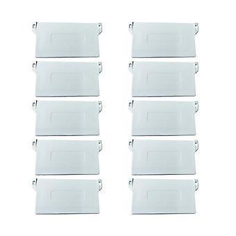 Plastic Bottom Plate For Vertical Blind Portable Bottom Weights Slats