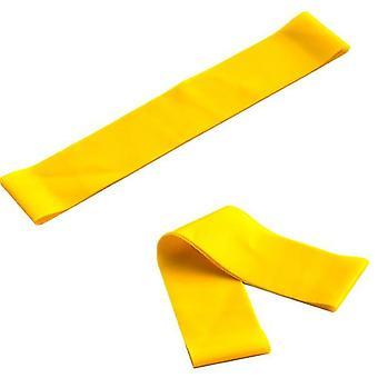 3Pcs اليوغا اللياقة البدنية الصفراء اللاتكس 600 حلقة التوتر الفرقة az12733