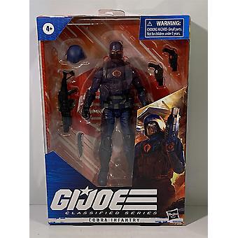 GI Joe Cobra Infanterie Klassifizierte Serie Figur Hasbro F2718