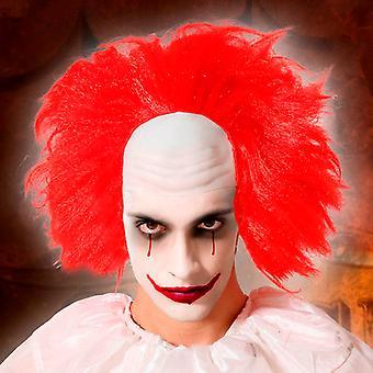 Halloween peruukki punainen
