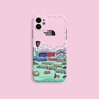 Luova iphone north pink soft phone -kotelo